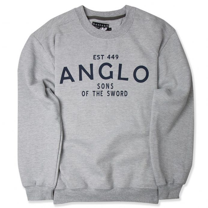Senlak Anglo Sweatshirt with Anglo - Sons of the Sword design.